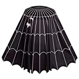 Colorful House Unisex Bat Spider Web Cloak, Poncho Costume
