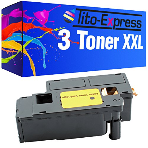 Tito-Express Platinum Series 3 Toner Black compatible with Dell 1250 1250C 1350 CNW 1350CNW 1355 CN 1355CN 1355CNW C-1760 C-1760NW C-1765 C-1765NF C-1765NFW