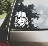 Car Decal Horror Movie Mashup 6 Inch Vinyl Movie Horror Classic It Chucky Michael Myers Jason Vorhees Freddy Krueger Texas Chainsaw