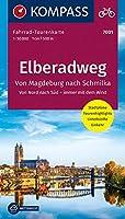 Fahrrad-Tourenkarte Elberadweg 1, Von Schmilka nach Magdeburg 1:50 000: Fahrrad-Tourenkarte. GPS-genau. 1:50000.