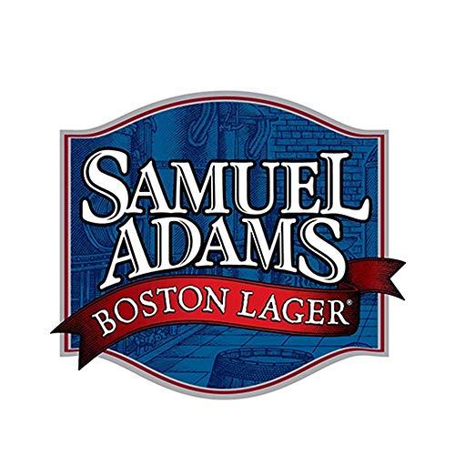 13 cm x 11,3 cm Sam Adams Boston Lager Aufkleber Aufkleber Bier Stoßstange Bar Autozubehör Fenster Laptop Aufkleber