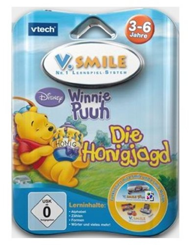 Vtech 80-084384 - V.Smile Motion Lernspiel Winnie Puuh