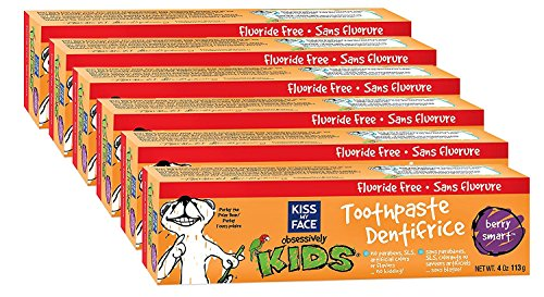 Kiss My Face Kids Fluoride Free Toothpaste