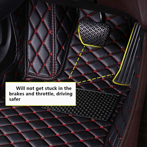 Auto Custom Floor Mats for FJ Cruiser 07-16 No fire Extinguisher Waterproof Leather Carpet Anti-Slip Full Surround Liners Black