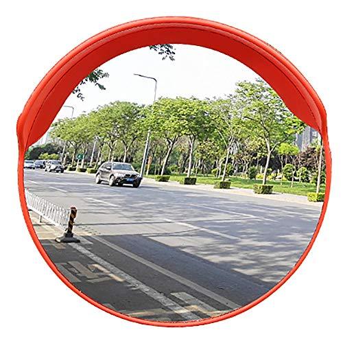 Duan hai rong DHR- 80 cm Verkehr Im Freien Weitwinkelobjektiv Konvexer Spiegel Straße Weitwinkelobjektiv Drehspiegel Breites Sichtfeld Auffahrt Verkehrsspiegel (Farbe : Outdoor, Größe : 80cm)