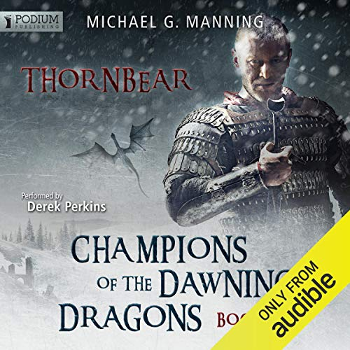 Thornbear audiobook cover art