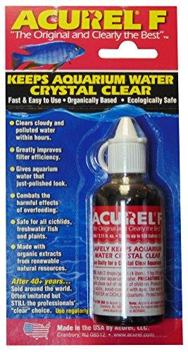 Acurel F50 Millimeter Water Clarifier, Aquarium, Treats 530...
