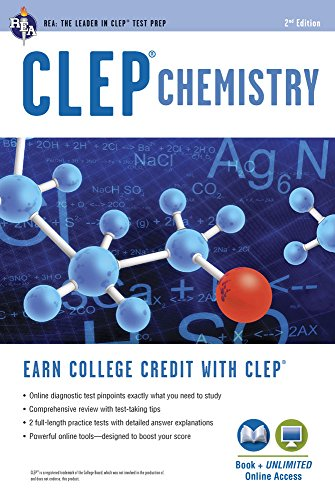 Compare Textbook Prices for CLEP® Chemistry Book + Online CLEP Test Preparation Second Edition, Revised Edition ISBN 9780738611037 by Reel, Kevin R.