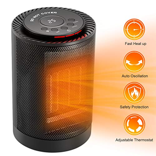 COMLIFE 1200W Ceramic Space Heater