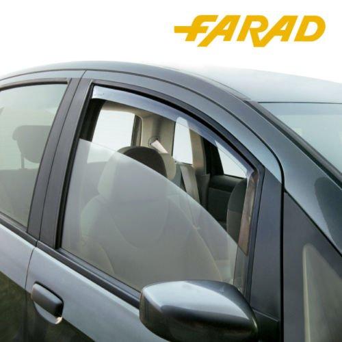 Farad Kit 4 Deflettori Aria Antiturbo Antivento Compatibile con Jeep Compass (5 p) dal 2017