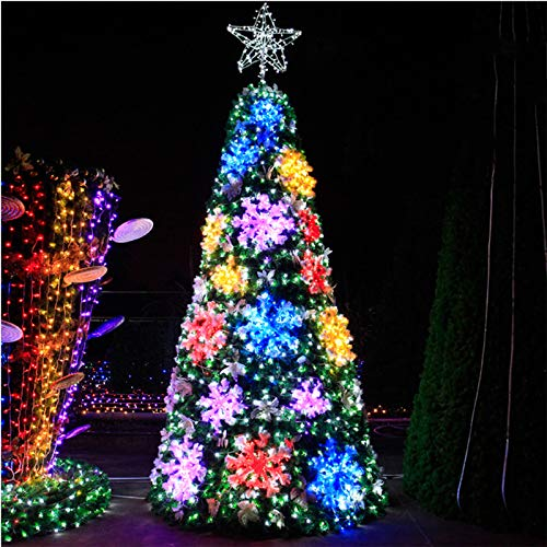 GE&YOBBY 3m Christmas Tree Large Decorations Artificial Creativity Snow Tree Gift Xmas Decor Ornaments for Friend,Parents,Festival Company Home,Outdoor,Party,