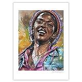 JosHoppenbrouwers Lauryn Hill Poster, 50 x 70 cm, ungerahmt