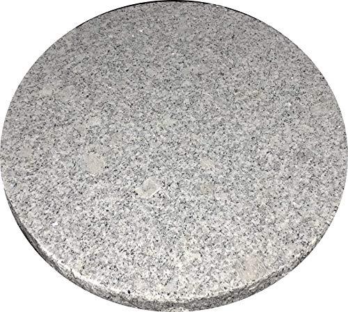 GRANITE SPIRIT - Grillen/backen - Pizzastein aus Granit - Druchmesser 25cm - Modell Little Squaw …