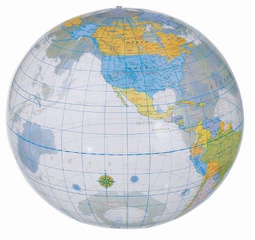 Wasserball Globus Ca. 25 cm Durchmesser