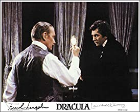 Dracula Movie Cast (1979) - Photograph Signed co-signed by: Laurence Olivier, Frank Langella