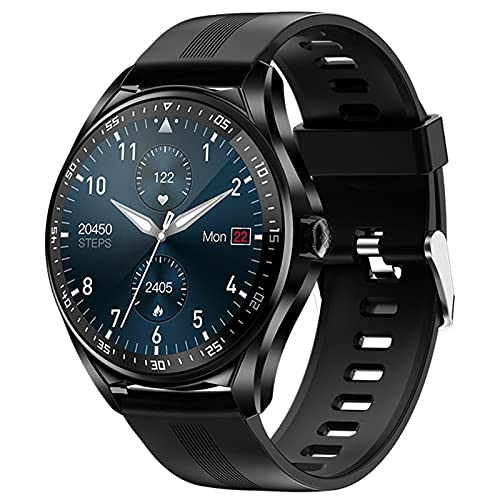 Smartwatch Reloj Inteligente oxigeno en Sangre con Pulsómetro Cronómetros Calorías Monitor de Sueño Podómetro Pulsera Actividad Inteligente Hombre Reloj Deportivo para Android iOS