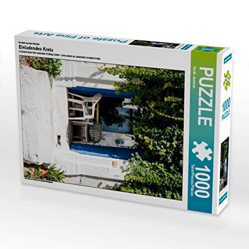 CALVENDO Puzzle Einladendes Kreta 1000 Teile Lege-Größe 48 x 64 cm Foto-Puzzle Bild von Sarah Janssen