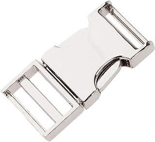 Baosity Antique Metal Side Quick Release Buckles DIY Clip Buckle 19/25/38mm Webbing
