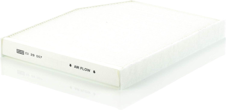 Original Mann Filter Innenraumfilter Cuk 29 007 Pollenfilter Mit Aktivkohle Für Pkw Auto