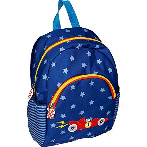 Die Spiegelburg 14821, zaino, borsa, cartella per scuola, sport e tempo libero - adatto per bambini - serie: Auto da corsa