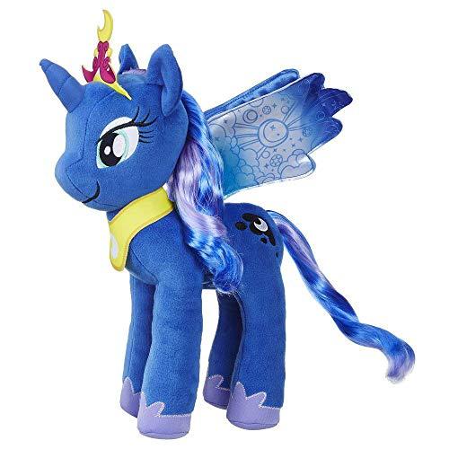 My little Pony Hasbro – E0430 Prinzessin Luna – Mähnenspaß Plüsch, 30cm