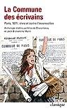 La Commune des écrivains : Paris, 1871:vivre et écrire l'insurrection par Brahamcha-Marin