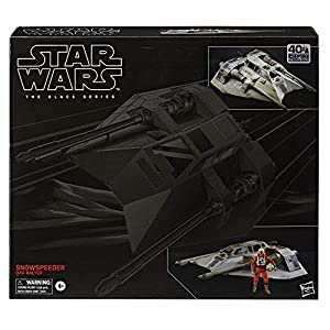 STAR WARS The Black Series Snowspeeder Vehicle with Dak Ralter Figure 6-Inch-Scale The Empire Strikes Back Collectible… - 51S4W01G4DL - STAR WARS The Black Series Snowspeeder Vehicle with Dak Ralter Figure 6-Inch-Scale The Empire Strikes Back Collectible…