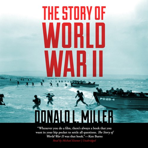 The Story of World War II audiobook cover art