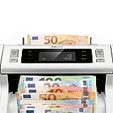 Safescan 2265 - Banknotenzähler für unsortierte Banknoten mit 5-facher Falschgelderkennung. - 5