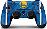 Skinit Decal Gaming Skin for PS4 Controller - Officially Licensed NBA Golden State Warriors Jersey Design