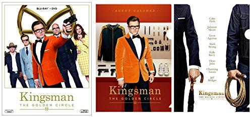 [画像:【メーカー特典あり】 キングスマン:ゴールデン・サークル 2枚組ブルーレイ&DVD (ミニクリアファイル2種付) [Blu-ray]]