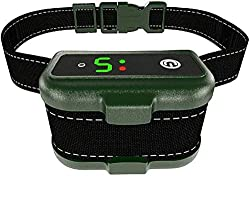Q7 Pro - Professional Bark Collar Rechargeable, Microprocessor Smart Detection Module with Three Anti-Barking Modes: Beep/Vibration/Shock for Small, Medium, Large Dogs All Breeds - IPx7 Waterproof