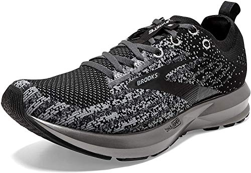 Brooks Damen Levitate 3 Laufschuhe, Black/Ebony/Silver, 43 EU
