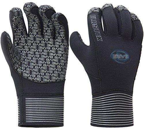 Bare Herren Handschuhe ELASTEK 5mm, schwarz, S, 60407 S