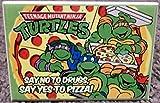 TMNT Teenage Mutant Ninja Turtles Pizza 2x3 Fridge Locker MAGNET; TMNT Teenage Mutant Ninja Turtles Pizza 2x3 Fridge Locker MAGNET; TMNT Teenage Mutant Ninja Turtles Pizza 2x3 Fridge Locker MAGNET