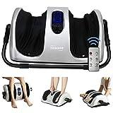Best Foot And Calf Massagers - TISSCARE Foot Massager Machine with Heat, Shiatsu Foot Review