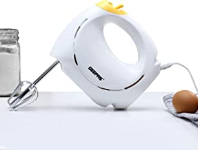 Geepas 150 Watt 7 Speed Hand Mixer - GHM43012, white, white
