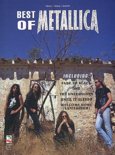 Best Of Metallica. Für Klavier, Gesang & Gitarre(mit Griffbildern)