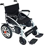 Electric Wheelchair for Adults, Wheelchairs Medical Equipment Multi-Functional Wheelchair, Light Folding Electric Wheelchair, Scooter, GPS, 360% Rotation
