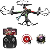 [New Version] WiFi FPV RC Quadcopter Drone with Wide-Angle HD Camera Live Video...