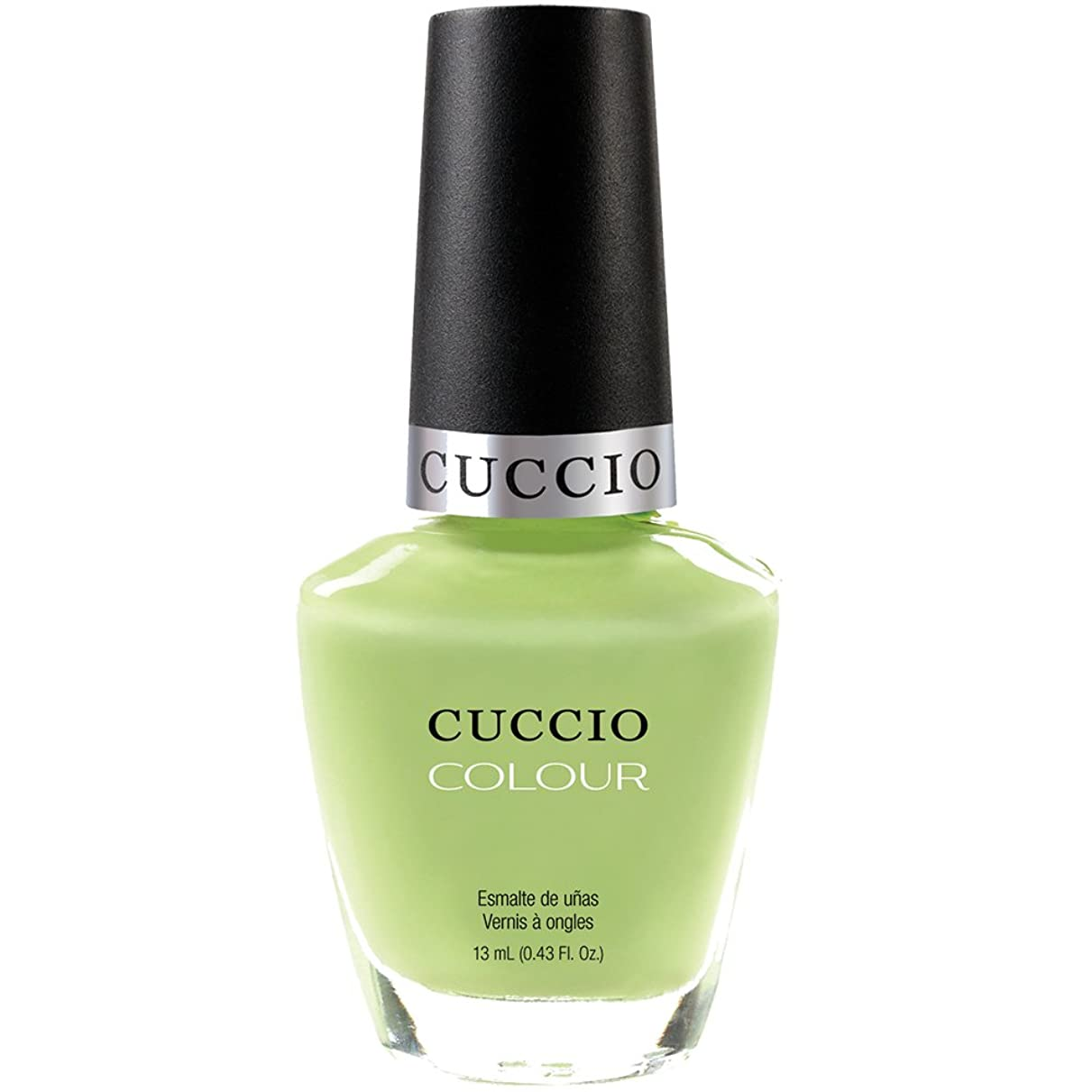 講師眠いです入場Cuccio Colour Gloss Lacquer - In the Key of Lime - 0.43oz / 13ml