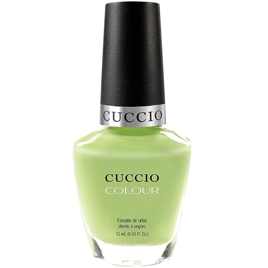 変更教えて通り抜けるCuccio Colour Gloss Lacquer - In the Key of Lime - 0.43oz / 13ml