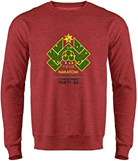 Nakatomi Plaza 1988 Christmas Party Costume Crewneck Sweatshirt for Men