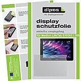 dipos I 2X Schutzfolie matt kompatibel mit Medion LifeTab S10365 / S10366 Folie Bildschirmschutzfolie