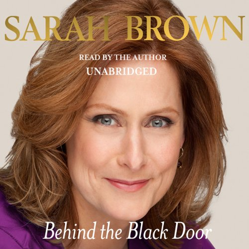 Behind the Black Door audiobook cover art
