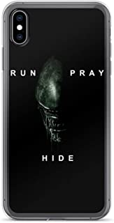 iPhone XR Case Anti-Scratch Motion Picture Transparent Cases Cover Alien Covenant Movies Video Film Crystal Clear
