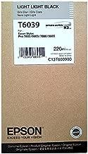 Epson T6039-C13T603900 Açık Açık Siyah Orjinal Kartuş