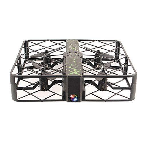 LXWM RC Drone modalità Senza Testa WiFi 0.3Mpx Camera Gabbia Drone Altitudine Tenere UFO Pocket Mini Drone per Bambini Compleanno Regalo di Natale