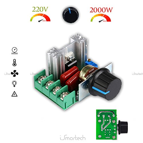 Driver AC 2000 W 220 V 230 V elektronische regelaar toerentalregelaar spanning 2 kW voor AC motoren module lampen dimmer ventilator