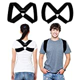 CAMP BEN Original Posture Corrector Figure 8 Clavicle Brace for Women and Men (LG 38-44') Improve Posture - Stop Slouch - Upper Back Brace Shoulder Support Device - Relief from Back and Neck Pain